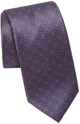 Brioni Patterned Silk Tie