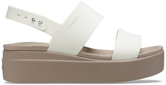 Crocs Brooklyn Wedge Sandals
