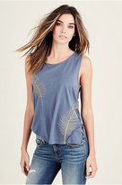 True Religion Palm Womens Muscle Tee