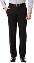 Haggar Big & Tall Travel Performance Solid Suit Pant - Straight Fit, Flat Front