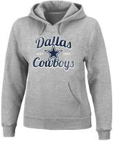 Majestic Plus Size Dallas Cowboys Pullover Hoodie