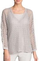 Nic+Zoe Nic + Zoe Poolside Suncatcher Sweater