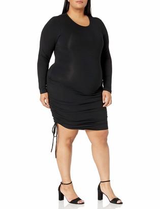 Forever 21 Women's Plus Size Drawstring Mini Dress
