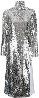 Bouguessa long sequinned tunic top