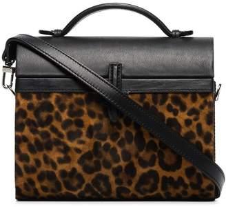 Hunting Season Gigi leopard-print tote bag