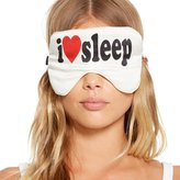 Chaser Women's I Heart Sleep Mask