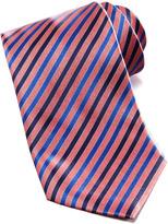 Stefano Ricci Striped Silk Tie, Red