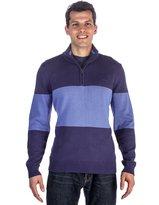 Noble Mount Men's 100% Cotton Half-Zip Pullover Sweater