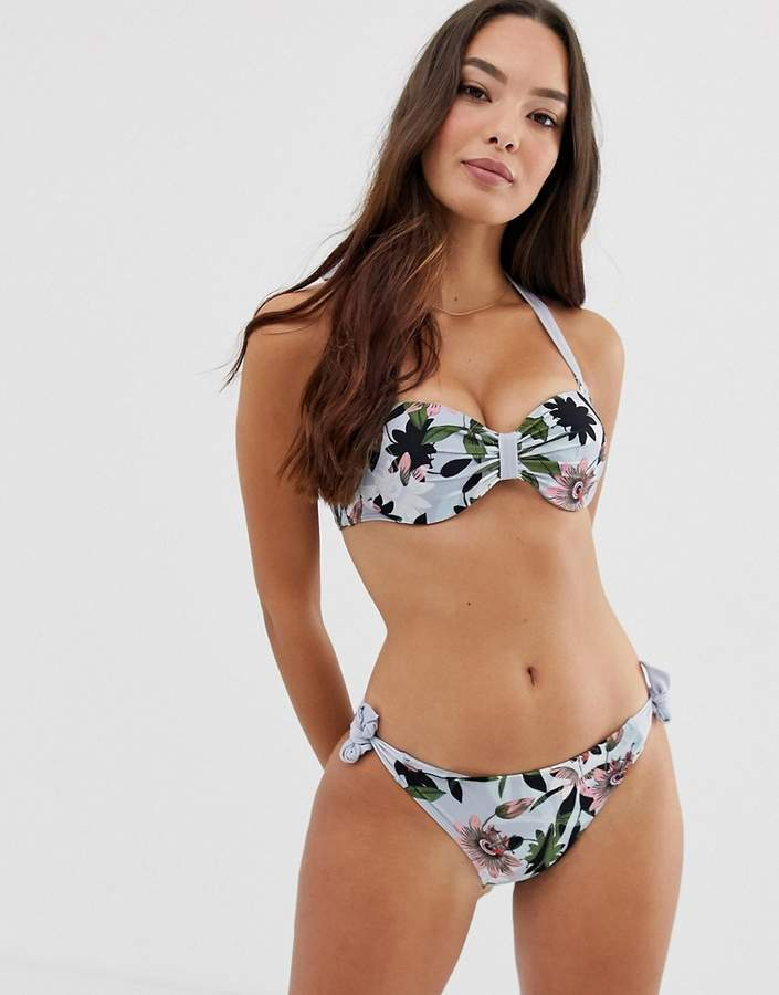 dbc13c9162 Ted Baker Floral Swimsuit - ShopStyle