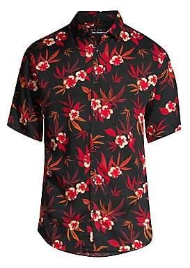 The Kooples Men's Floral Camp Shirt