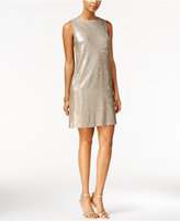Betsey Johnson Sequined Sparkle Shift Dress