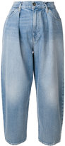 Levi's Made & Crafted Barrel wide leg cropped jeans