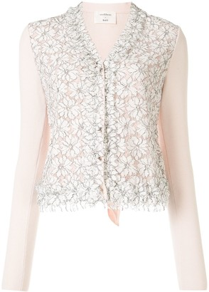 Onefifteen Long-Sleeved Lace Cardigan