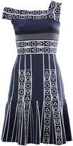Peter Pilotto 'Index' jacquard knit dress