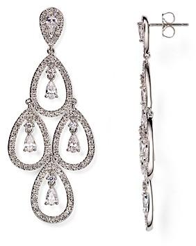 Nadri Kite Chandelier Earrings