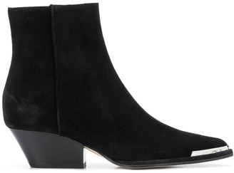 Sergio Rossi Cuban heel ankle boots
