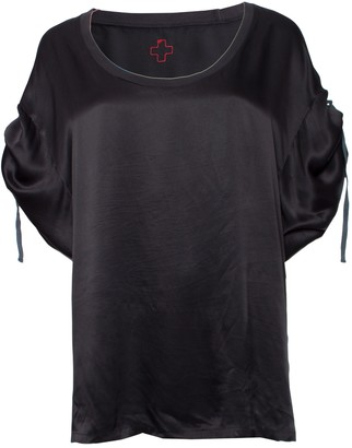 A.F.Vandevorst Af Vandevorst Black Cotton Top for Women