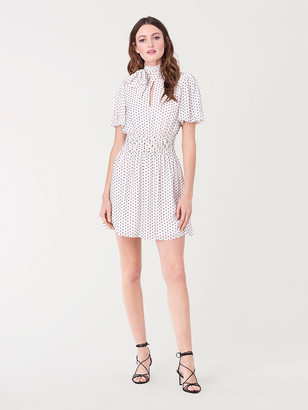 Diane von Furstenberg Eva Chiffon Mini Dress