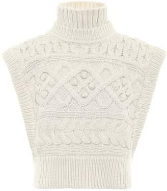 Isabel Marant Minea merino wool sweater vest