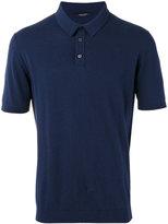 Roberto Collina polo shirt - men - Cotton - 50
