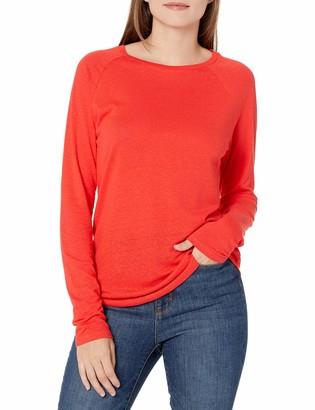 Goodthreads Amazon Brand Women's Lightweight Linen Modal Jersey Long-Sleeve Raglan T-Shirt
