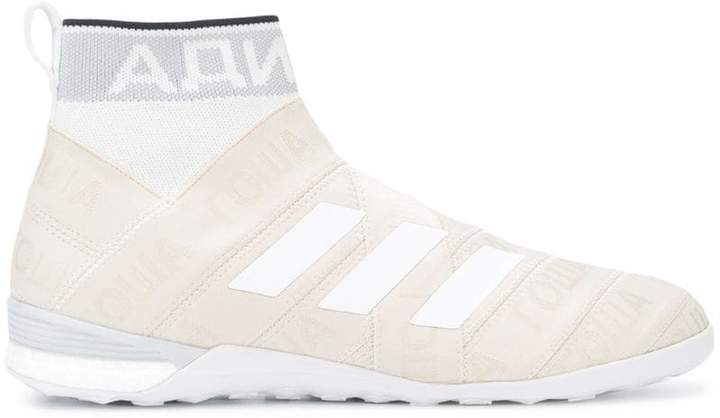 Gosha Rubchinskiy x Adidas sock effect hi-top sneakers