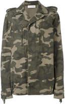 Faith Connexion camouflage print jacket