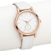 Merona Women's Strap Watch White