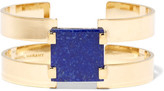Isabel Marant Gold-plated Lapis Lazuli Cuff