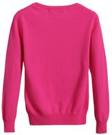 Pink Wind Women's Basic Long Sleeve Pullover Ribbed Sweater Knitwear