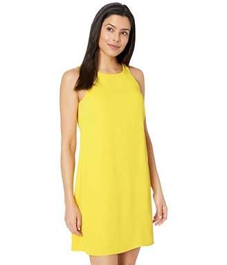 Lauren Ralph Lauren Sleek Crepe Paland Sleeveless Day Dress