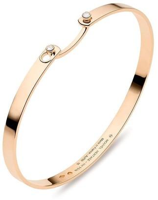 Nouvel Heritage 18kt rose gold Monday Morning Mood diamond bangle