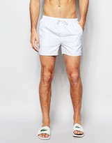 French Connection Swim Shorts In Pinstripe