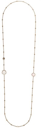Pasquale Bruni 18kt rose gold diamond quartz Bon Ton neckalce