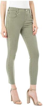 Liverpool Gia Glider Crop Cut Hem in Saguaro Palm (Saguaro Palm) Women's Jeans