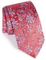 Eton Men's Floral Print Silk Tie