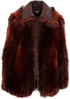 Stella McCartney Faux-fur jacket