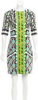 Peter Pilotto Printed Knee-Length Dress
