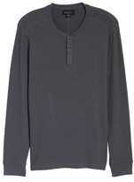 Velvet by Graham & Spencer Men's Long Sleeve Henley