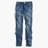 J.Crew Petite lookout high-rise jean in Chandler wash
