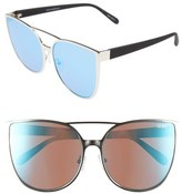 Quay Sorority Princess 60mm Cat Eye Sunglasses