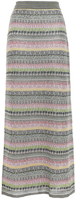 Missoni Silk-blend Jacquard Maxi Skirt