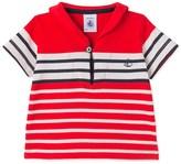 Petit Bateau Baby boys T-shirt with sailor collar