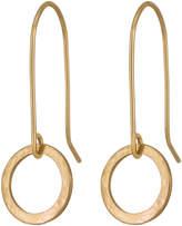 Lulu + Belle Gold Or Silver 'Karma' Disc Earrings