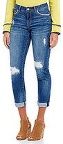 Tru Luxe Jeans Distressed Slouchy Boyfriend Jeans