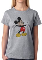 ANGRYDEER Mickey SWAG Mouse Smiling Whant A Hug XXL Womens T-Shirt