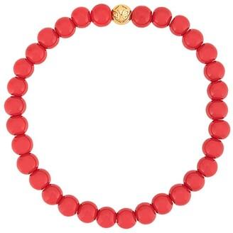 Nialaya Jewelry Beaded Two Tone Bracelet