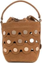 Pierre Hardy Penny Bucket bag - women - Suede - One Size