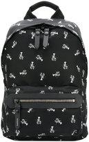 Lanvin Lobster print backpack
