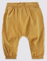 Marks and Spencer Pure Cotton Cord Bloomer Trousers